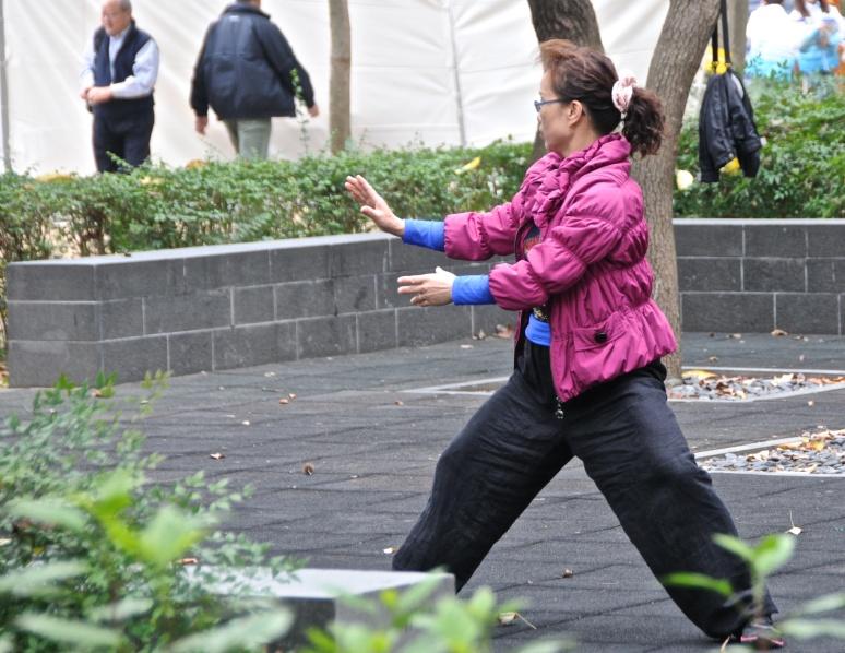 Tai Chi in Victoria Park