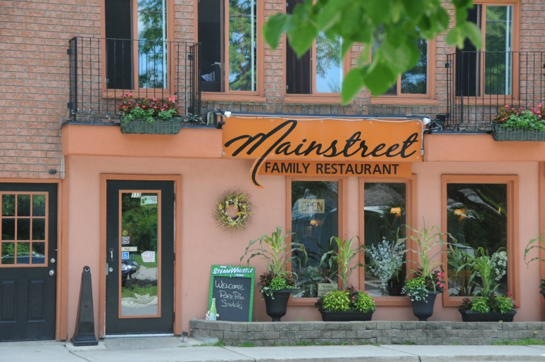 Mainstreet Family Restaurant, located on St. John Street