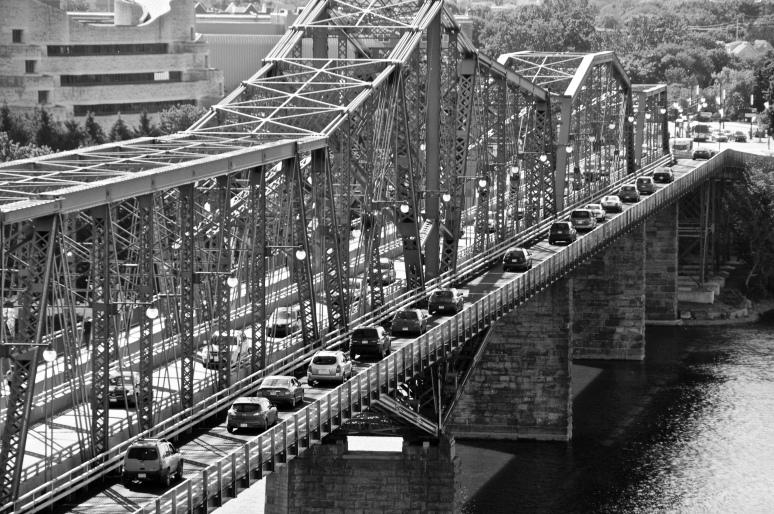 Alexandra Bridge to Hull, Quebec