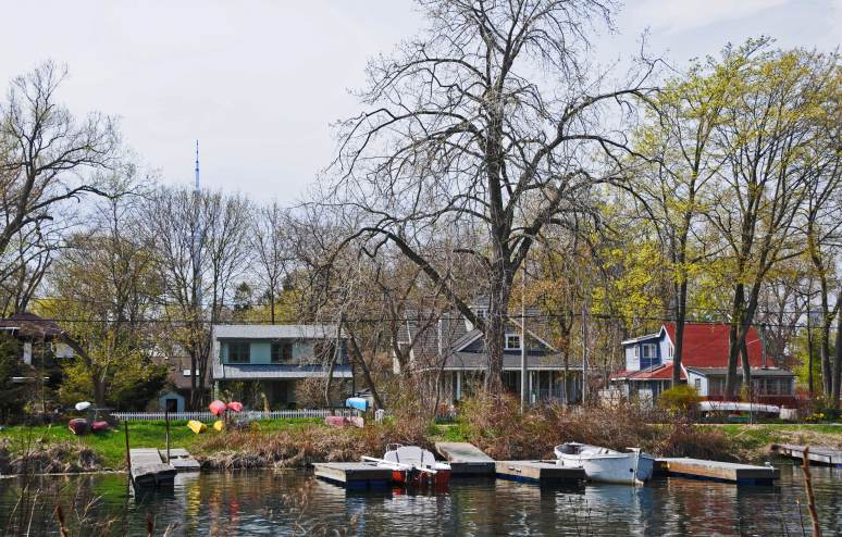 Residential community on Algonquin Island